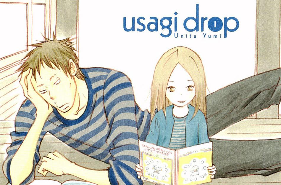 Usagi Drop, copertina del manga