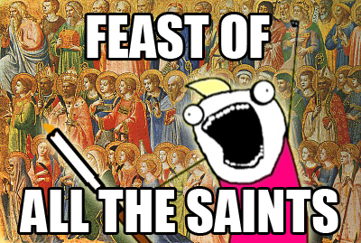 All saints meme