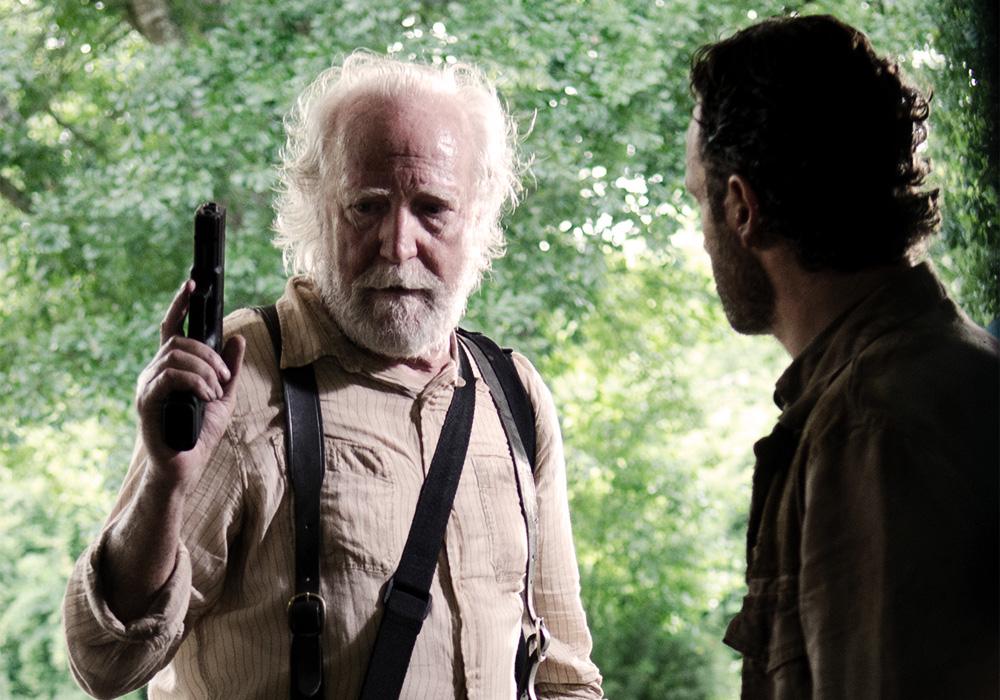 Hershel da The Walking Dead
