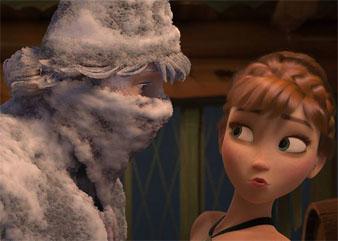 primo incontro tra Kristoff e Anna