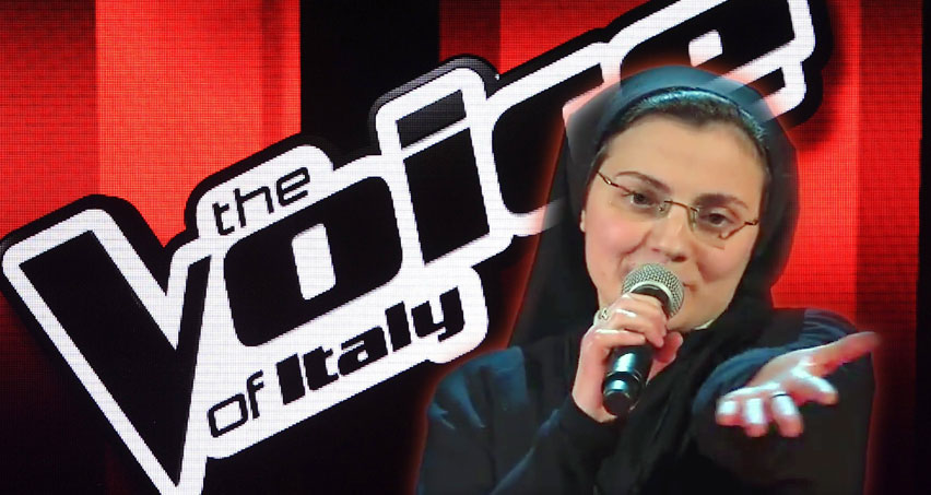 Suor Cristina a The Voice