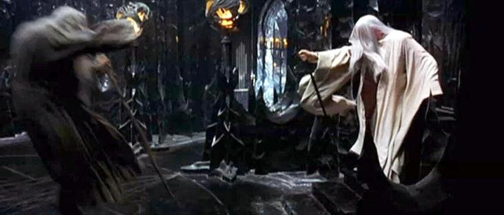 Gandalf versus Saruman