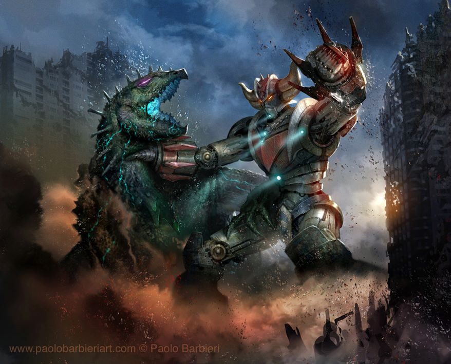 Pacific Rim & Goldrake