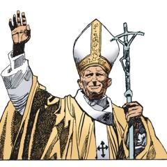 Un Papa a fumetti!