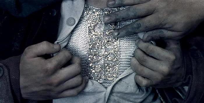 L'armatura di Mithril indossata da Frodo