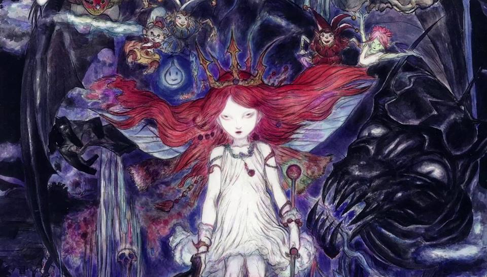 Child of Light poster Yoshitaka Amano