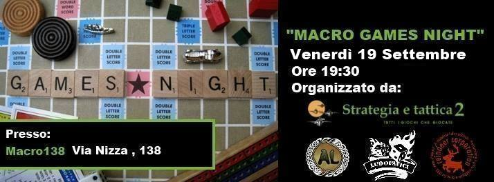 Macro Games Night