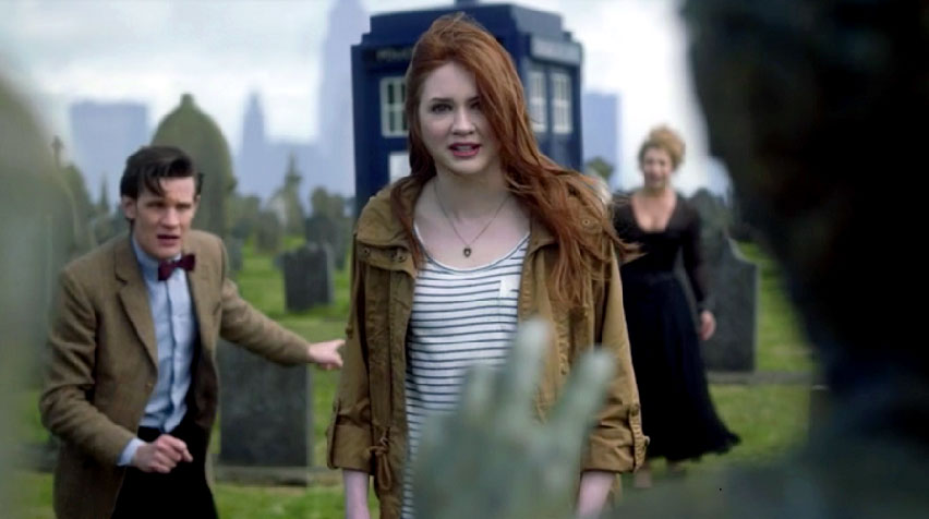 Amy Pond la compagna dell'11° Dottore