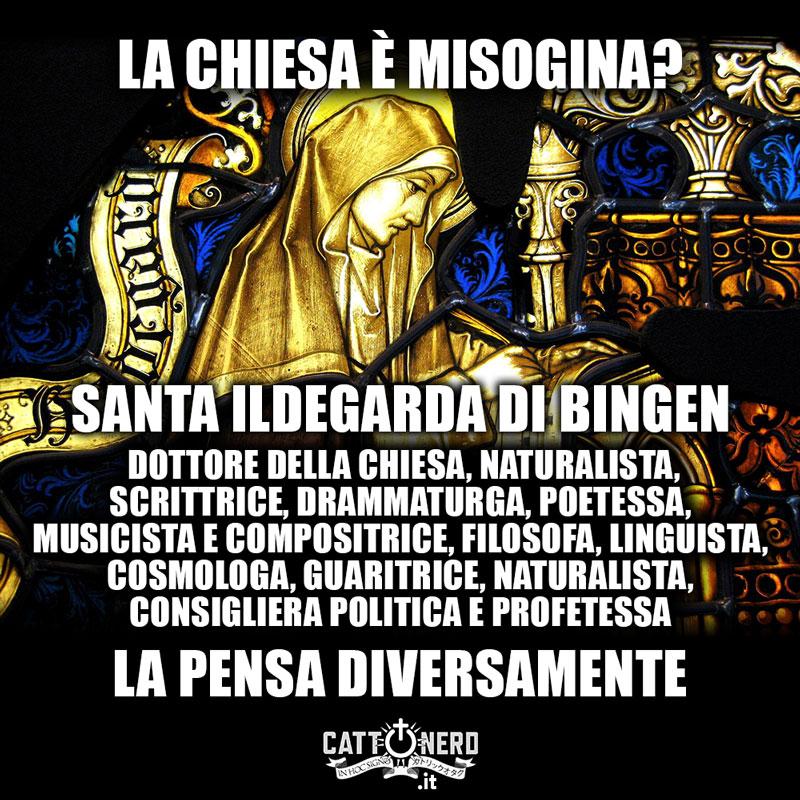 La Chiesa è misogina? Santa Ildegarda di Bingen la pensa diversamente