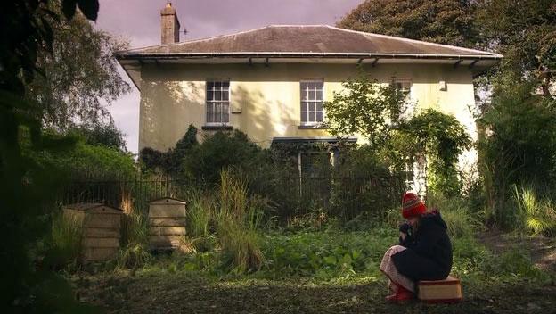 Amy Pond aspettando il Dottore che la porti via