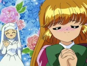 Poco da dire. E' un magical girl ma anche uno shoujo. Preparatevi a qualche smanceria romanticosa. Possono insorgere sfoghi cutanei.