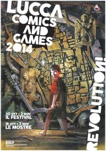 Lucca comics manifesto 2014