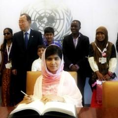 Nobel per la Pace a Malala: amare il nemico a soli 17 anni