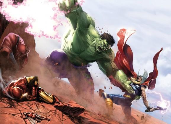 Hulk VS Aveangers