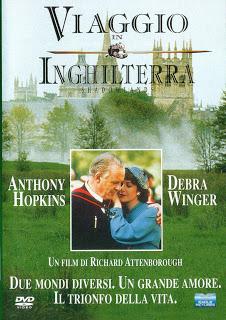 """Shadowlandsin italiano """"Viaggio in Inghilterra"""" è il film che parla di questa storia d'amore con Anthony Hopkins nei panni di C. S. Lewis"""