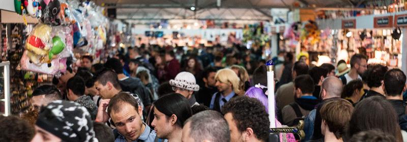 Folla al Lucca CG 2014