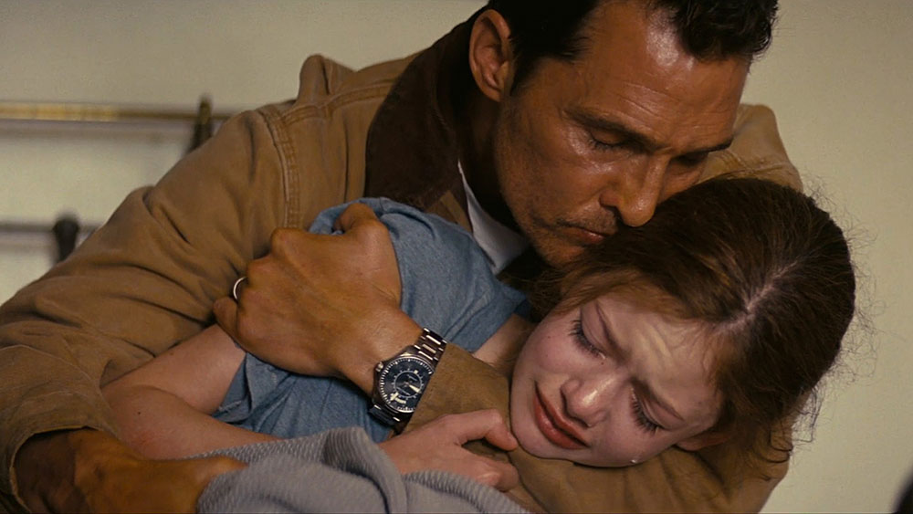 Interstellar - Cooper saluta la figlia Murph