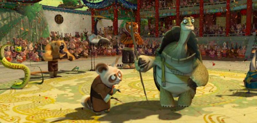 Shifu e Oogway