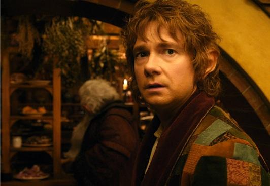 Bilbo poco convinto... XD