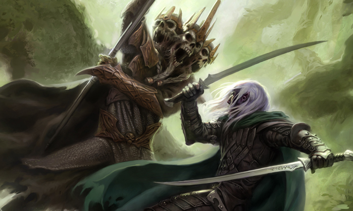 Drizzt VS Lich