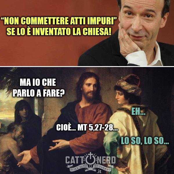 Cristo risponde a Benigni