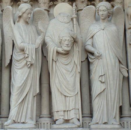 Particolare Cattedrale Notre-Dame