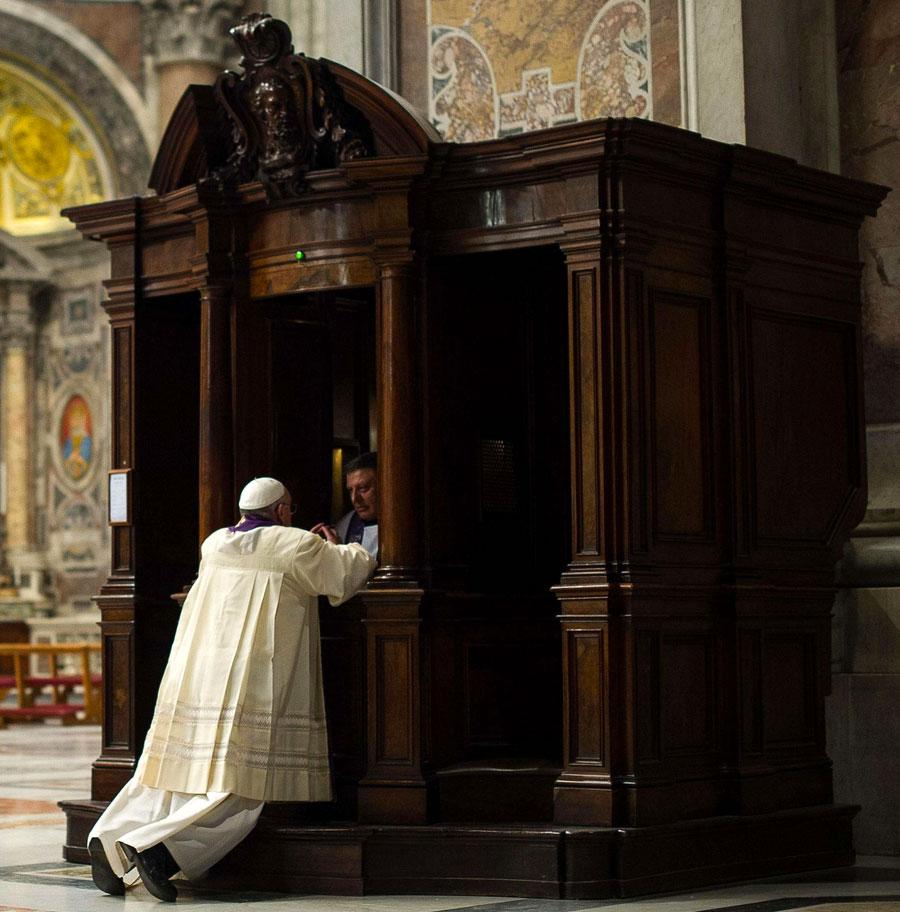 Papa-confessione