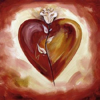 La rosa nel cuore