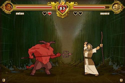 Mosè VS Satan
