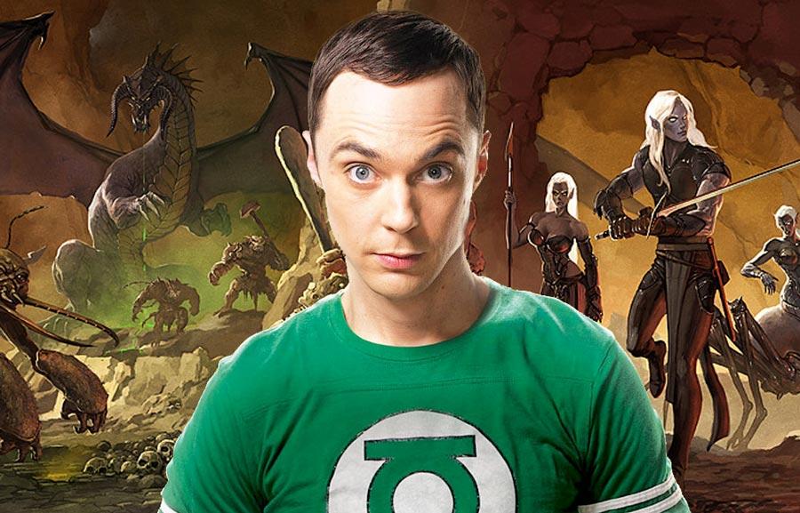 Sheldon e D&D