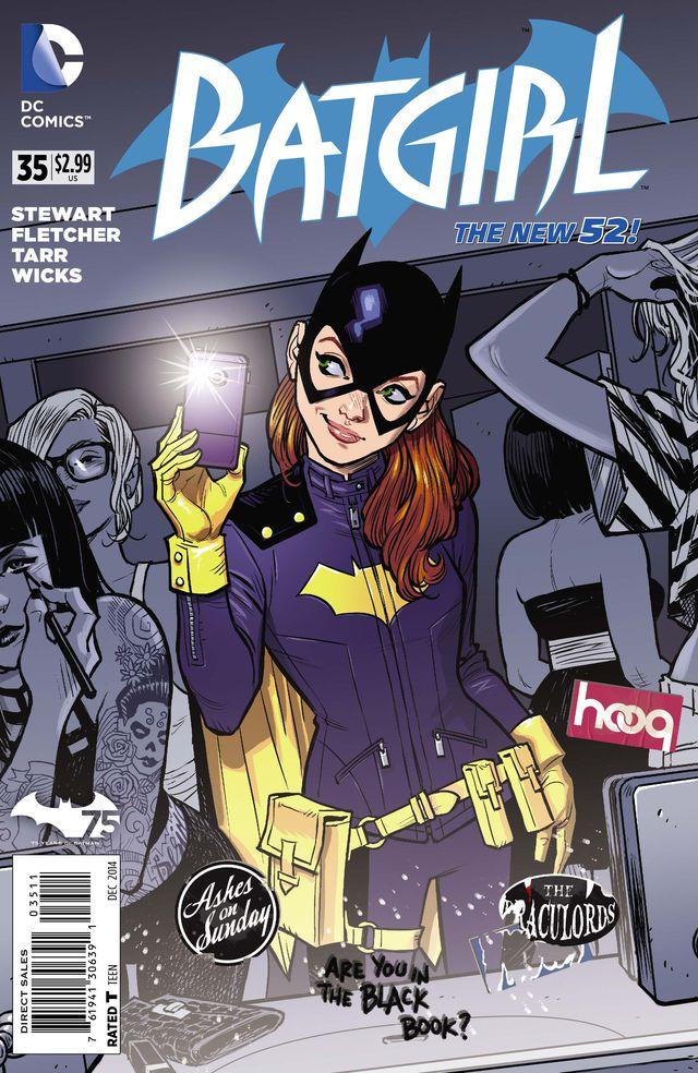 La nuova versione di Batgirl