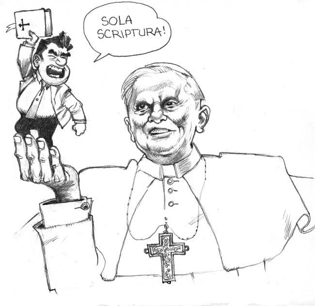 Chiesa VS Sola Scriptura