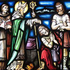 San Patrizio e la conversione del tiranno