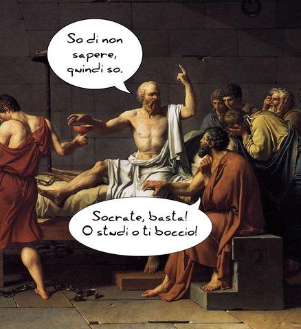 Socrate, meme