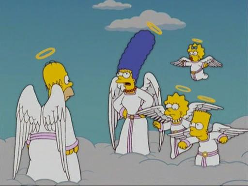 """I Simpson versione """"alata"""""""