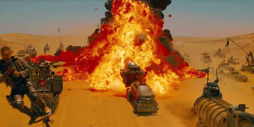 Mad Max, colori esplosivi