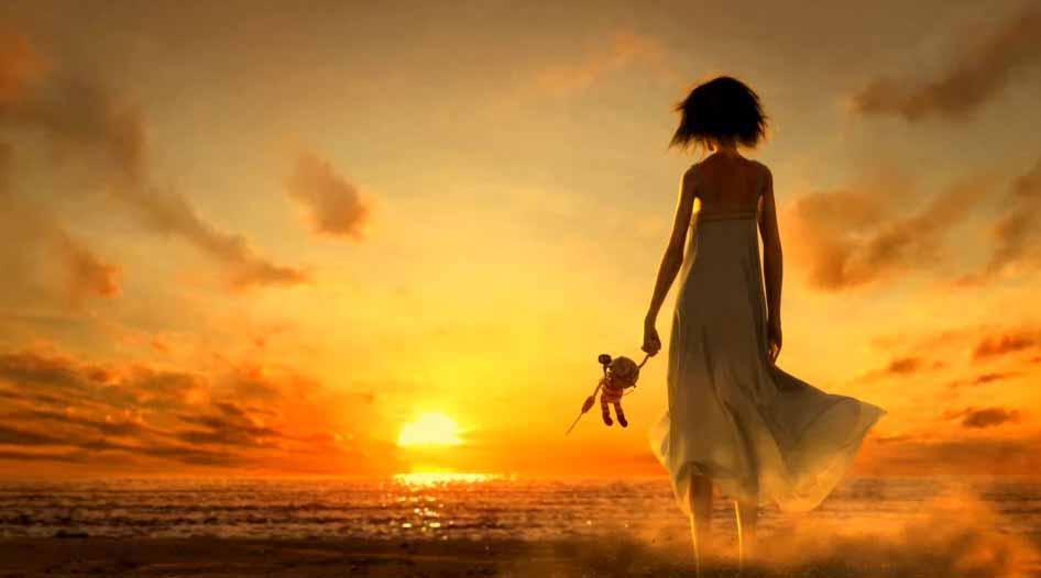 Eleonor, col tramonto
