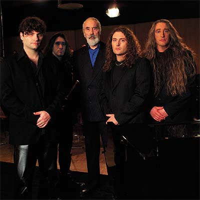 Christopher Lee con i Rhapsody Of Fire \m/