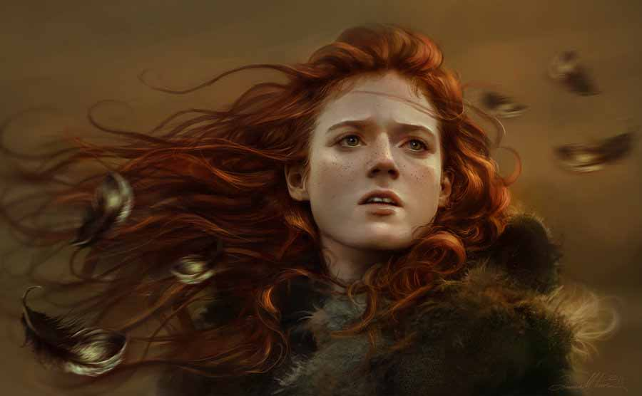Ygritte, fan art