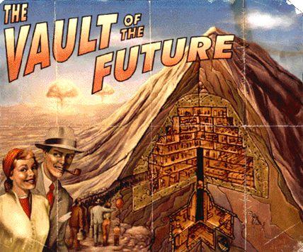 Vault, poster retro