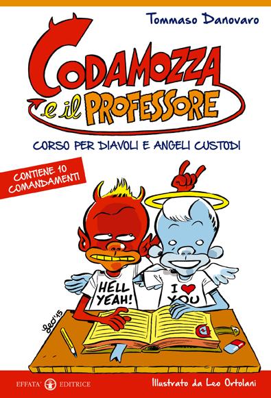 La copertina del libro realizzata da Leo Ortolani