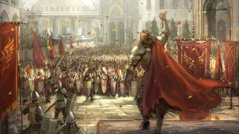 king, medieval