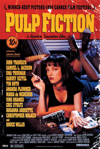 Pulp Fiction, locandina