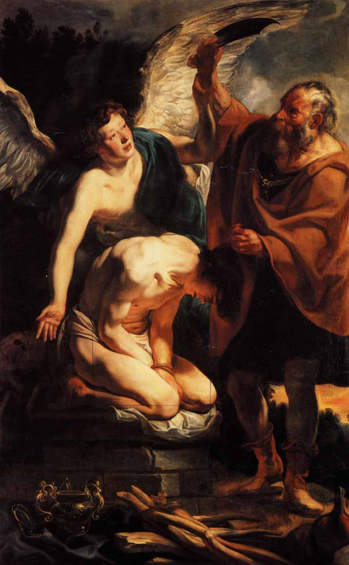 Il sacrificio di Isacco, di Jacob Jordaens