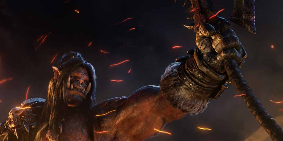 Warcraft, Grom