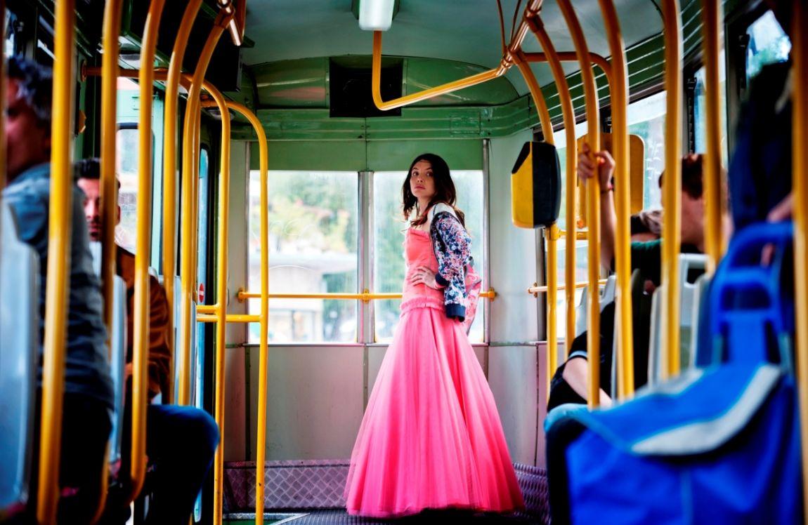 Alessia principessa in tram, Jeeg Robot