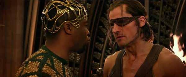 Gods of Egypt, negro e pirata