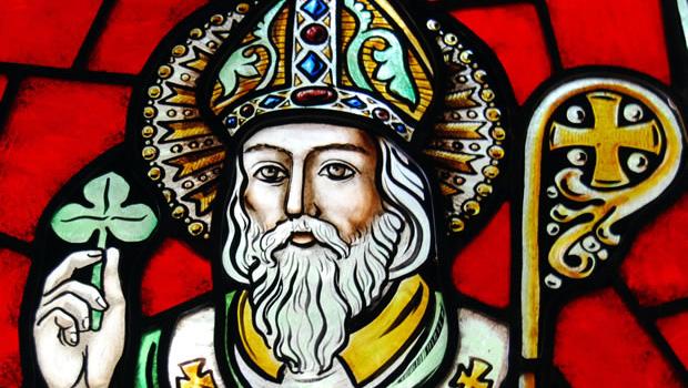 San Patrizio, vetrata