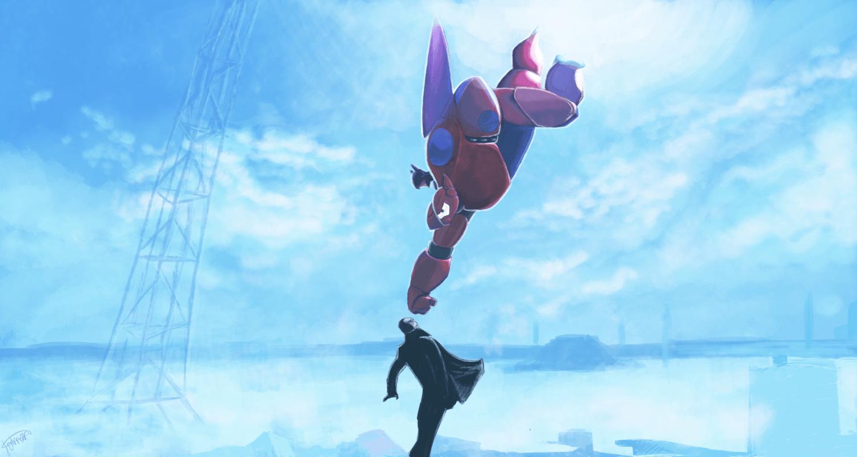 big_hero_6___final_battle_by_juuxmiko-d8l0zha