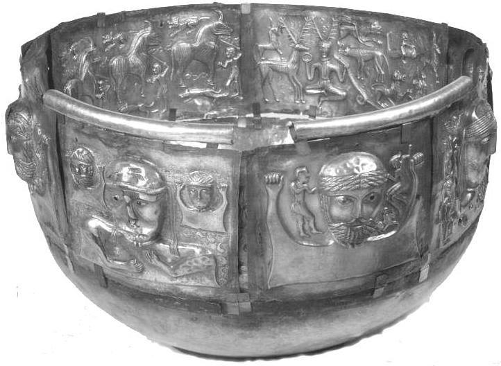 calderone di bronzo celtico